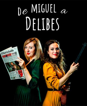 Obra de teatro de Miguel a Delibes en el Auditorio de Tudela de Duero